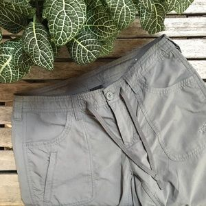 The North Face Gray Nylon Outdoor Pants